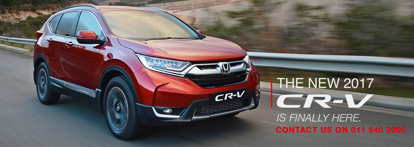 New CRV has Arrived