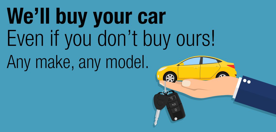 We will buy your car!
