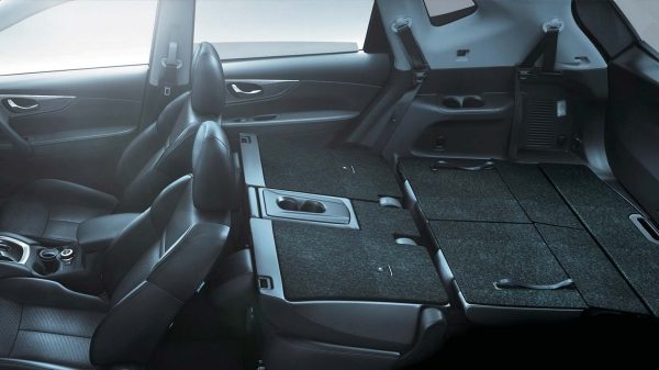 Interior Spacing - X-Trail