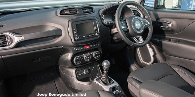 Jeep Reneagde 2017 interior