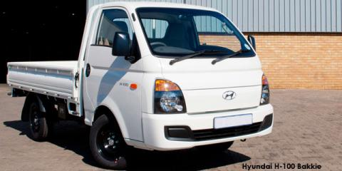 Hyundai H-100 Bakkie 2.6D deck