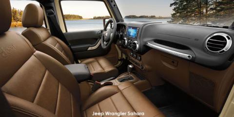 Jeep Wrangler 3.6L Sahara - Image credit: © 2019 duoporta. Generic Image shown.