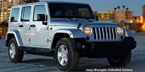Jeep Wrangler Unlimited 3.6L Sahara - Image credit: © 2019 duoporta. Generic Image shown.