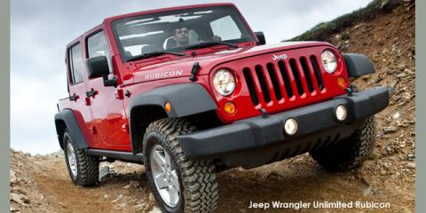 Jeep Wrangler Unlimited 3.6L Rubicon - Image credit: © 2018 duoporta. Generic Image shown.