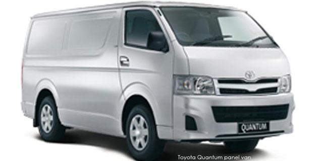 Commercial Quantum 2.5 D-4D Panel Van