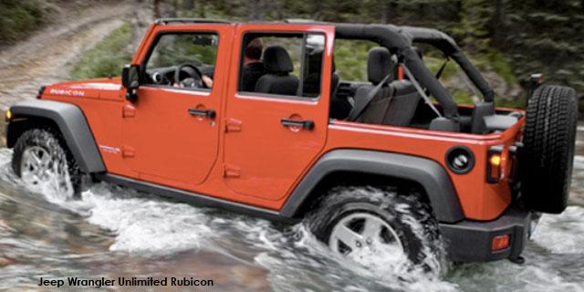 Jeep Wrangler Unlimited 2.8L V6 A5 Sahara