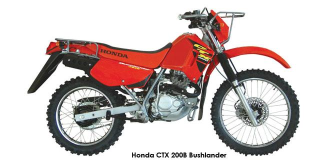 Honda Bike Enduro
