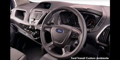 Ford Transit Custom panel van 2.2TDCi 74kW SWB Ambiente - Image credit: © 2018 duoporta. Generic Image shown.