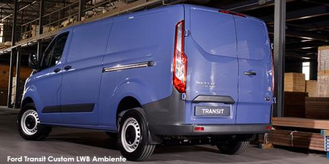 Ford Transit Custom panel van 2.2TDCi 74kW LWB Ambiente