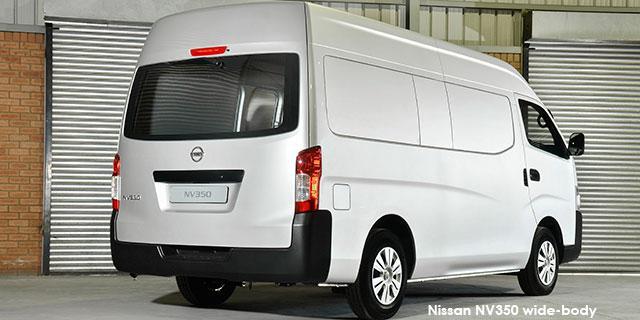 Nissan NV350 Panel Van Wide-Body 2.5i LWB