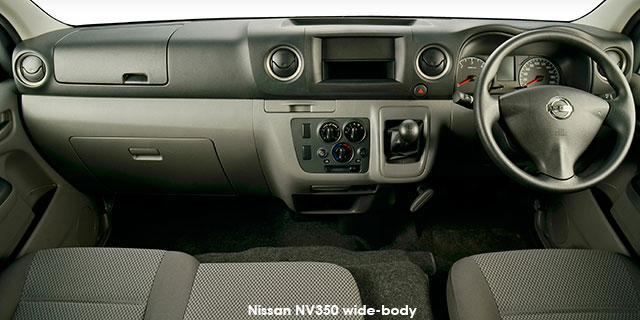 Nissan NV350 Panel Van Wide-Body 2.5dCi LWB