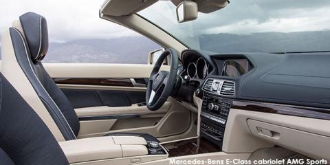 Mercedes-Benz E250 cabriolet
