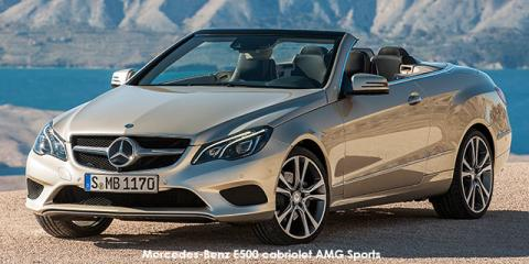 Mercedes-Benz E500 cabriolet AMG Sports