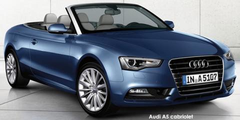 Audi A5 cabriolet 2.0TDI SE