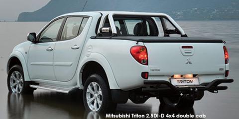Mitsubishi Triton 2.5DI-D double cab 4x4
