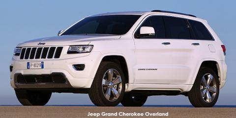 Jeep Grand Cherokee 3.6L Overland - Image credit: © 2020 duoporta. Generic Image shown.