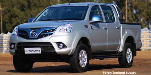 Foton Tunland 2.8 double cab off-road Luxury