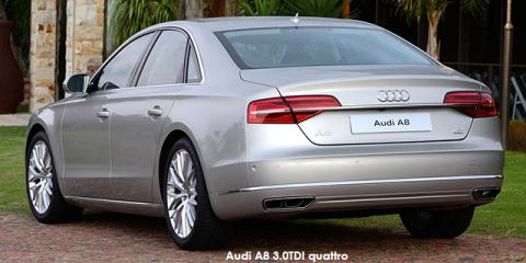 Audi A8 3.0TDI quattro - Image credit: © 2018 duoporta. Generic Image shown.