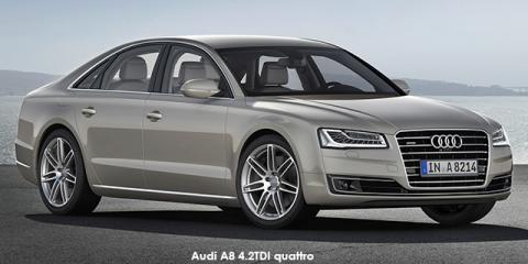 Audi A8 4.2TDI quattro - Image credit: © 2018 duoporta. Generic Image shown.