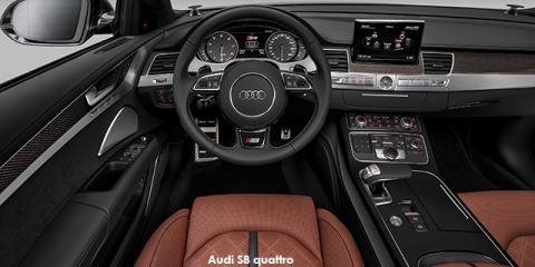 Audi S8 quattro - Image credit: © 2018 duoporta. Generic Image shown.