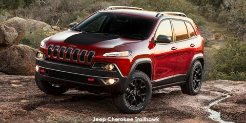 Jeep Cherokee 3.2L 4x4 Trailhawk - Image credit: © 2019 duoporta. Generic Image shown.