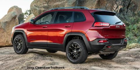 Jeep Cherokee 3.2L 4x4 Trailhawk - Image credit: © 2018 duoporta. Generic Image shown.