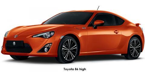 Toyota 86 2.0 high