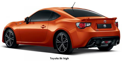 Toyota 86 2.0 high auto