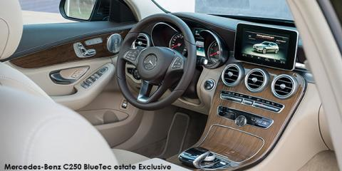 Mercedes-Benz C200 estate Exclusive auto