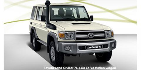 Toyota Land Cruiser 76 4.5D-4D LX V8 station wagon