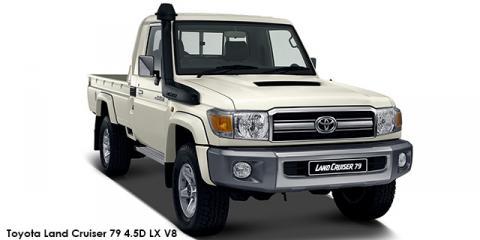 Toyota Land Cruiser 79 4.5D-4D LX V8