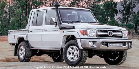 Toyota Land Cruiser 79 4.5D-4D LX V8 double cab