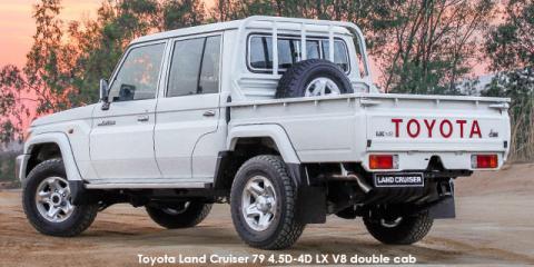Toyota Land Cruiser 79 4.5D-4D LX V8 double cab
