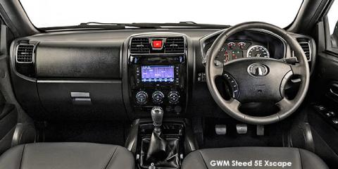 GWM Steed 5E 2.4 double cab Xscape