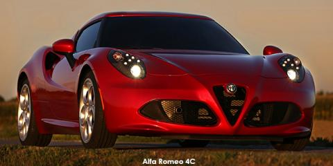 Alfa Romeo 4C coupe - Image credit: © 2019 duoporta. Generic Image shown.