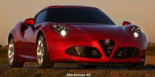 Alfa Romeo 4C - Image credit: © 2019 duoporta. Generic Image shown.