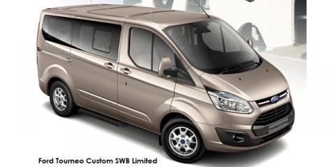 Ford Tourneo Custom 2.2TDCi SWB Limited - Image credit: © 2018 duoporta. Generic Image shown.