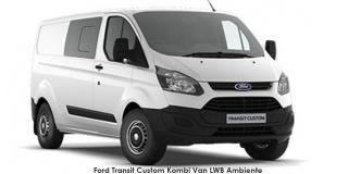 Ford Transit Custom - Image credit: © 2018 duoporta. Generic Image shown.