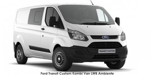 new ford transit custom kombi van 2 2tdci lwb ambiente up. Black Bedroom Furniture Sets. Home Design Ideas