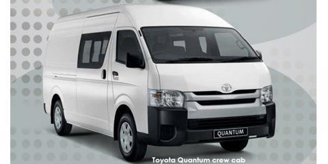 Toyota Quantum 2.5D-4D crew cab