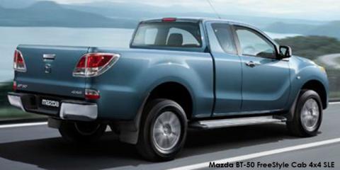 Mazda BT-50 3.2 FreeStyle Cab SLE auto