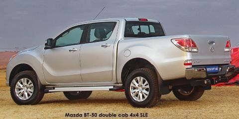 Mazda BT-50 3.2 double cab 4x4 SLE auto