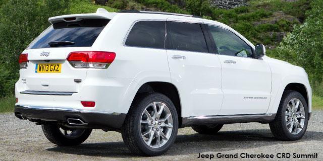 Jeep Grand Cherokee 3.0L CRD Summit