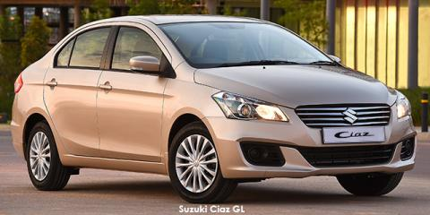 Suzuki Ciaz 1.4 GL - Image credit: © 2018 duoporta. Generic Image shown.