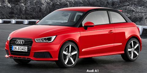 Audi A1 3-door 1.4TFSI SE auto