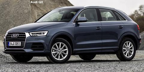 Audi Q3 2.0TFSI quattro - Image credit: © 2018 duoporta. Generic Image shown.