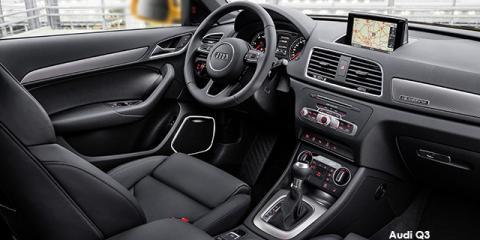 Audi Q3 2.0TDI quattro - Image credit: © 2018 duoporta. Generic Image shown.