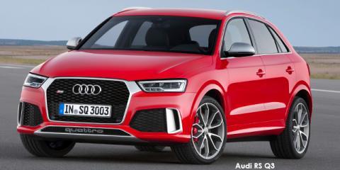 Audi RS Q3 quattro - Image credit: © 2018 duoporta. Generic Image shown.