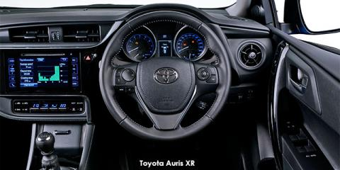 Toyota Auris 1.3 X - Image credit: © 2018 duoporta. Generic Image shown.