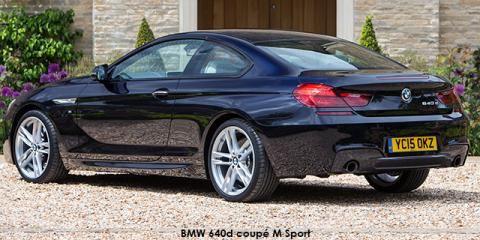BMW 640i coupe M Sport